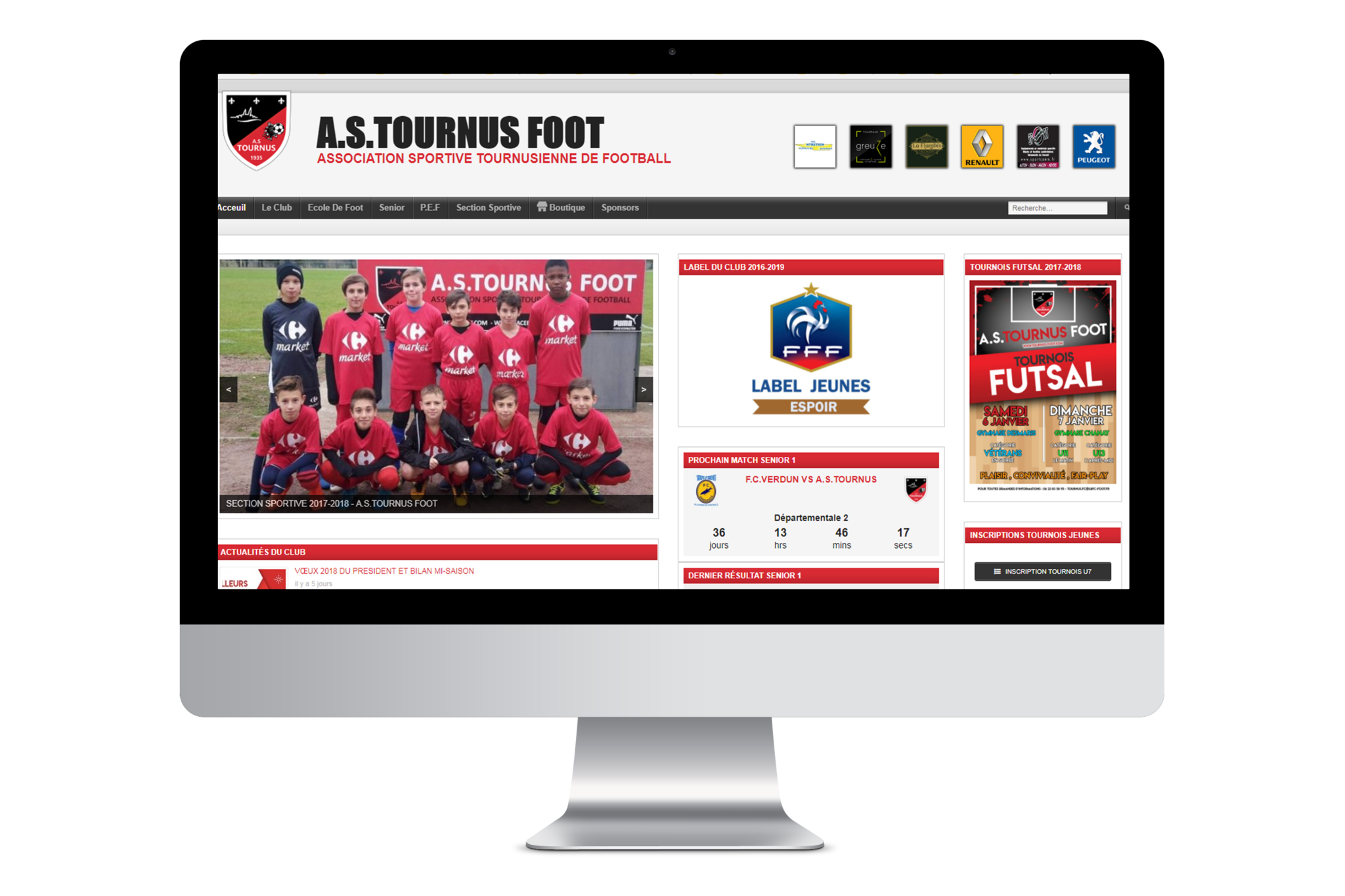 Site Vitrine - Site E-commerce